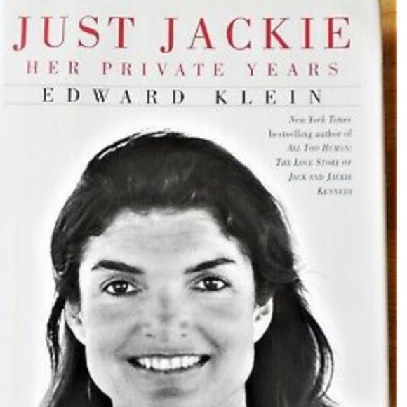 Random House Other - Just Jackie Hardcover Book Kennedy Onassis JFK
